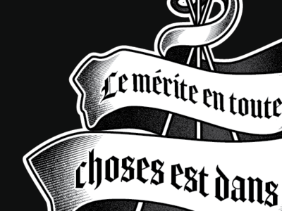 Saber Tattoo illustrator tattoo saber fencing