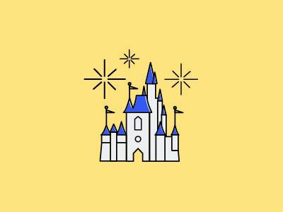 Disney Icons — Cinderella's Castle