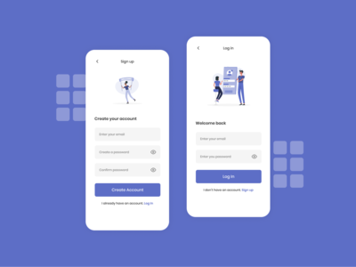 Crypto Saving App Signup And Login signup login crypto 10ddc ux ui ux ui typography mobile minimal design app