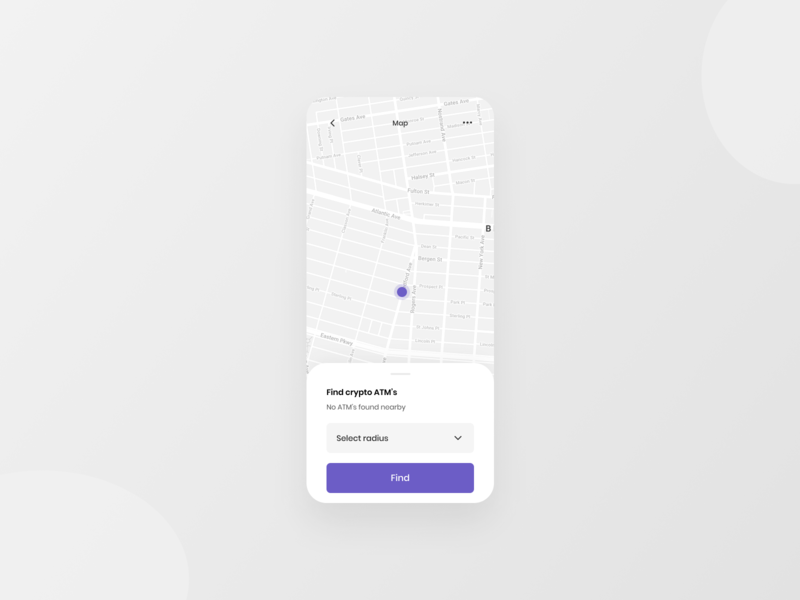 Crypta ~ Map Screen maps map crypto 10ddc ux ui ux ui typography mobile minimal design app