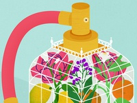 Exploring the intricate notes contained within perfume