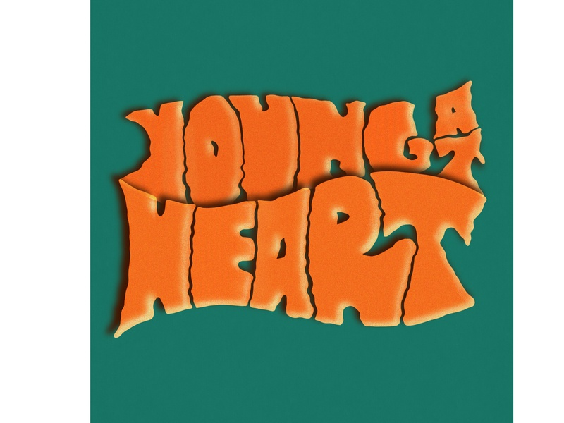 Young at Heart frank sinatra procreate lettering handlettering design typography