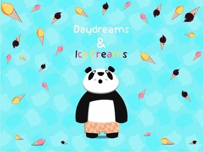Panda Loves Ice Creams!