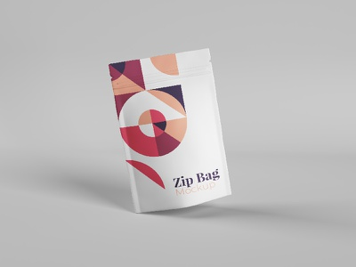 Zip Bag Mockup photorealistic psdmockup psd product packaging branding creative modern clean mockups mockup tastype goodware