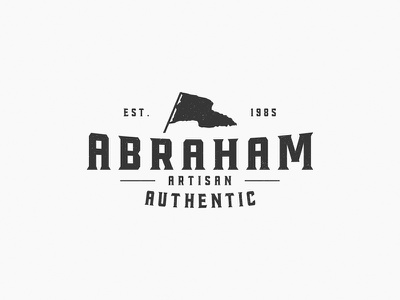 Abraham The Artisan tastype goodware font logo