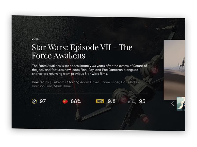 dribbble moviedice starwars