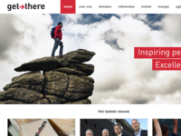 Get There homepage redesign