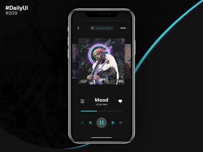 Daily UI #009 - Music Player