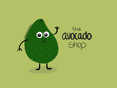 The Avocado Shop- Branding