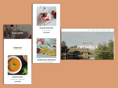 Poet Moelle - Restaurant Website