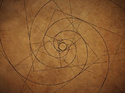 The Golden Ratio - Texture geometric drawing texture renaissance circles golden ratio logo loop blueprint da vinci vintage motion after effects gif fibonacci circular geometry golden ratio ratio