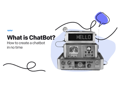🤖 What is ChatBot? doodle livechat animation otlowski loop retro robot chatbot