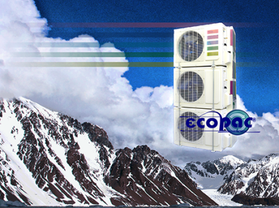 EcoPac® Sistemas design logo branding