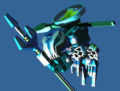 Inventor Renders möbius lego 3d render cad inventor