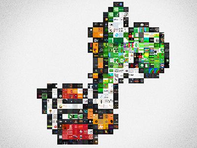 Yoshi Made From Dribbble Shots yoshi snes nintendo mario game pixel dinosaur mosaic dribbble colors