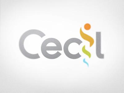 Cecil logo logo medical identity healthcare health typography logotype rainbow grey