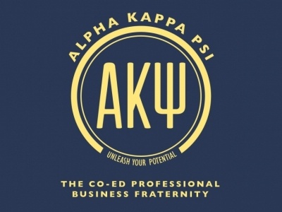 AKΨ akpsi rush branding professional logo