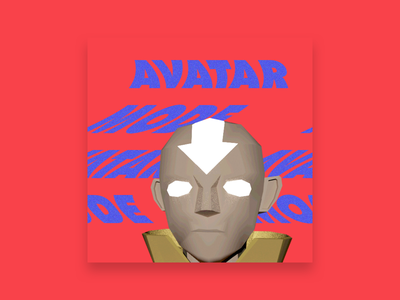 Avatar Mode 3d autodesk maya photoshop aang avatar