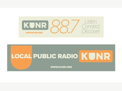 KUNR Bumper Stickers