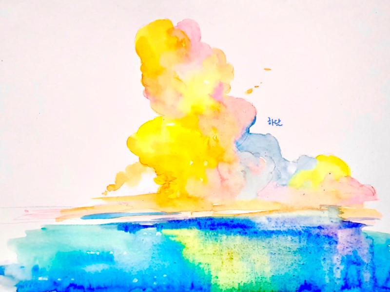 colorPool watercolor doodle illust illustration illustrate
