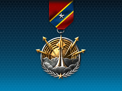 Medal for Growing Recruit that are developing well in the game.