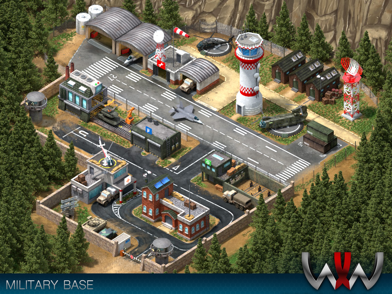 Military Base by Tiago Gomes on Dribbble