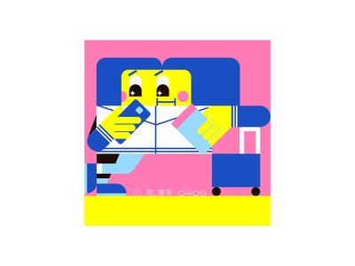 0409 flat design illustration