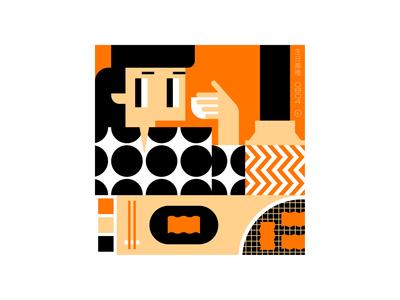 0804 flat illustration design