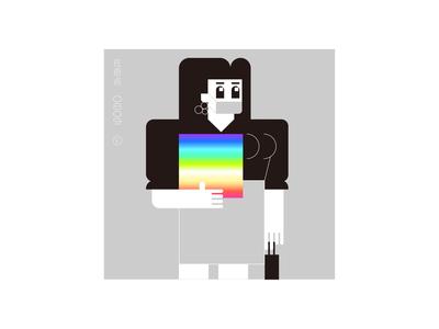 0809 flat illustration design