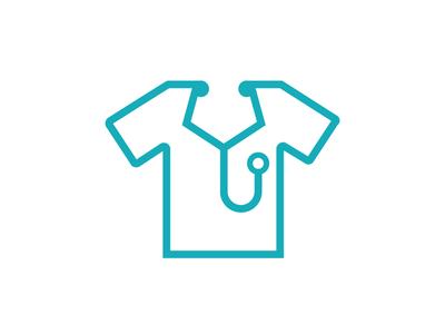 stethoscope / shirt graphic design stroke logo garment apparel tee shirt t shirt shirt doctor medical stethoscope