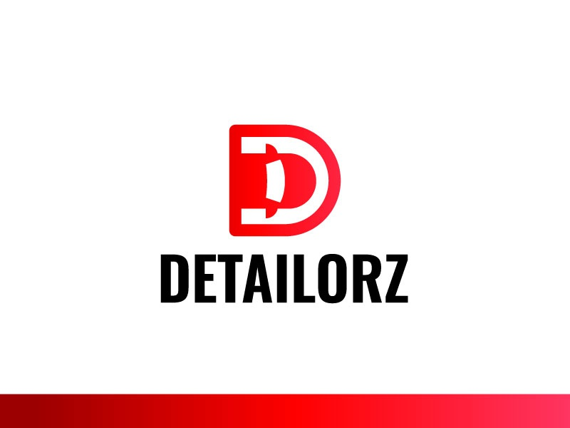 Detailorz graphic design identity icon logo car d