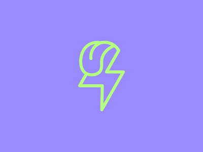 Power Tongue bowiejagger affair graphic design icon electric power flash tongue bolt thunder