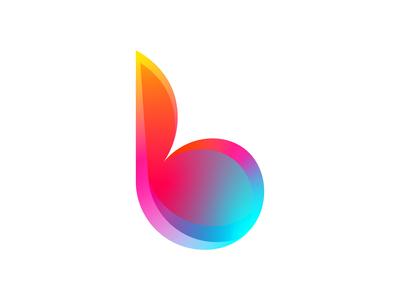 B🔥 branding typography graphic design monogram icon logo