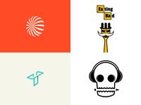 Top42018 vector minimalist illustration graphic design logo