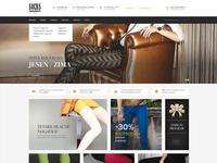Socks store - homepage