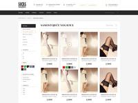Socks store - product list
