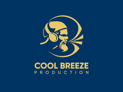 Cool Breeze branding brand design logo