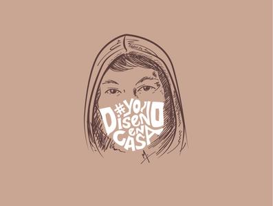 YO DISEÑO EN CASA illustration design