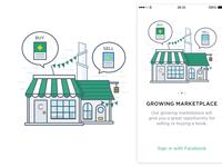 Marketplace Illustration