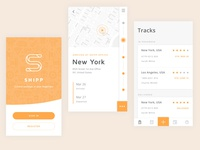 Shipp app - Tracking