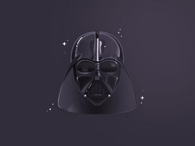 Darth Vader lord sith darth vader star wars illustration vector icon