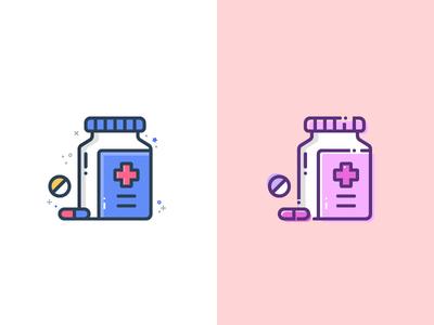 Style Exploration medicine drug drugs medical illustration vector icon
