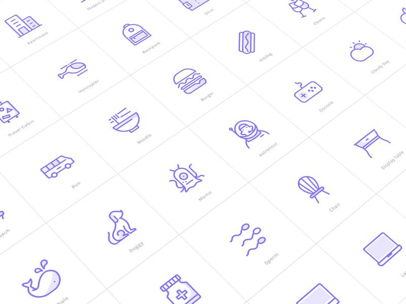 Budicon 2.0 (70%) sketch svg icon animal hedgehog vector icon food travel work living room icon set icon budicon