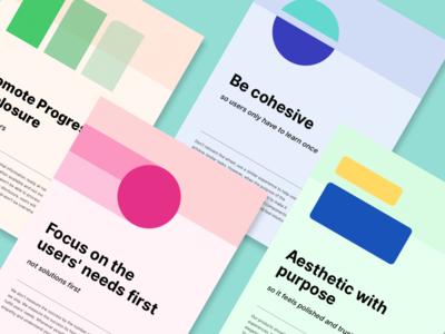 Bukalapak Product Experience Principles Poster