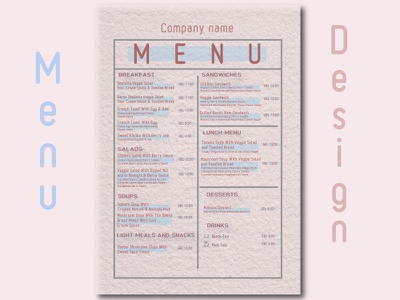 menu desing cafe menu cafe menu design menu illustration
