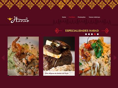 Arabian Restaurant in Rio site website rio food restaurant arabian árabe