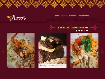 Arabian Restaurant in Rio