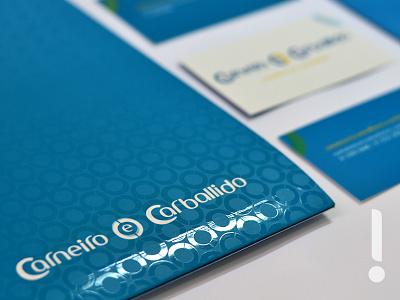 Corporate Identity | Carneiro e Carballido identity contability alliance