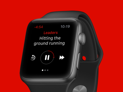 Player View: The Economist on Apple Watch