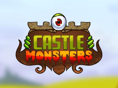 Castle monsters game logo castle monsters game logo decean nelutu